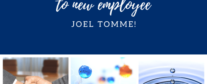 Welcome to new ASI employee Joel Tomme